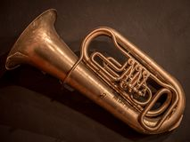 Muzykalna muzykalna tubka obraz royalty free