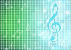 Muzykalne notatki Obraz Royalty Free