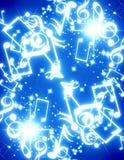 Muzykalne notatki Zdjęcie Stock