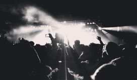 Muzykalni koncerty zdjęcie royalty free