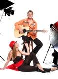 Muzykalny duet Fotografia Stock