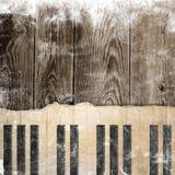 Muzykalny grunge tło Zdjęcie Stock