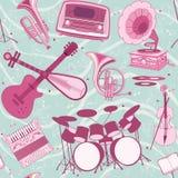 Muzykalny tło Obrazy Royalty Free