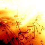 Muzykalny tło Zdjęcie Royalty Free