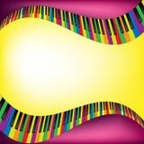 Muzykalny tło Obrazy Stock