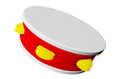 Muzykalny tambourine Obraz Stock