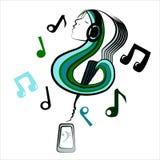 Muzykalny wewnętrzny świat Zdjęcie Stock