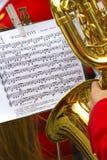 muzykalny wynik Zdjęcia Royalty Free