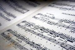 Muzykalnych notatek sztuki sk?ad zdjęcia royalty free