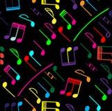 muzyki bezszwowy deseniowy Zdjęcie Stock