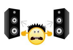 muzyki głośny nie Obraz Stock