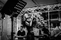 Muzyki I poezi festiwal Obraz Stock