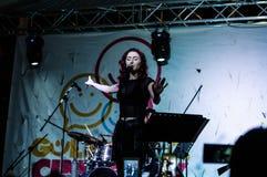 Muzyki I poezi festiwal Obrazy Royalty Free