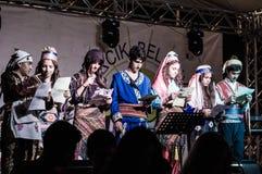 Muzyki I poezi festiwal Zdjęcia Stock