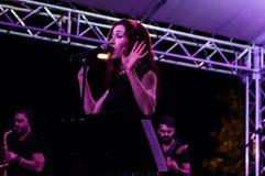 Muzyki I poezi festiwal Obraz Royalty Free