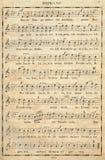 muzyki notatka Zdjęcia Stock