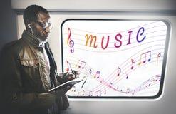 Muzyki Nutowa sztuka Rozsądny Instrumentalny pojęcie Zdjęcie Stock