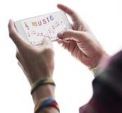 Muzyki Nutowa sztuka Rozsądny Instrumentalny pojęcie Fotografia Stock
