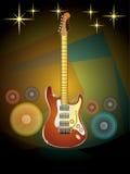 Muzyki partyjna noc Fotografia Stock
