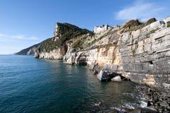 Muzzerone Berg von Portovenere Stockbild