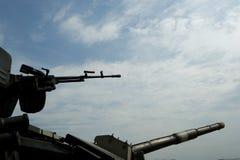 Muzzle guns aimed Royalty Free Stock Photo