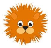 Muzzle of a lion Stock Image