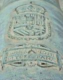 Muzzle with royal arms. Saint-tropez, france - adobe RGB Stock Photos