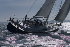 MV żeglowania Markotny jacht obrazy stock