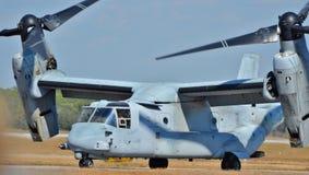 MV-22白鹭的羽毛 库存图片