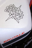 MV Agusta Brutale 1090RR Detail Royalty Free Stock Image