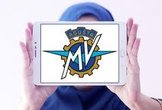 Mv agusta motocyklu logo Zdjęcia Royalty Free
