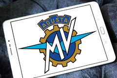 Mv agusta motocyklu logo Obrazy Stock