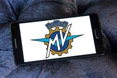 Mv agusta silnika logo Zdjęcia Stock