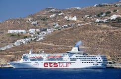 MV Egeïsch Paradijs royalty-vrije stock fotografie