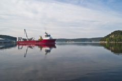 MV Elektron Stock Image