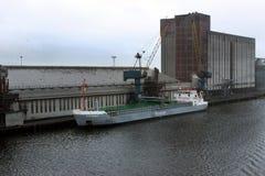 MV FLINTERBAY - Algemeen vrachtschip Stock Afbeelding