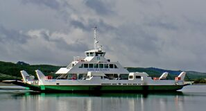 MV Kohu Ra Tuarua. Hokianga Harbour, Royalty Free Stock Photography