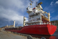 MV landy, τύπος σκαφών: γενικό φορτίο, σημαία: Νορβηγία Στοκ Εικόνες