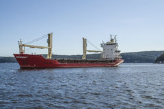 Mv landy, ship type: general cargo, flag: norway Stock Photos