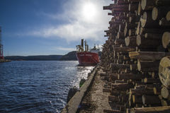 Mv landy, ship type: general cargo, flag: norway Royalty Free Stock Photos