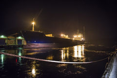 Mv lysvik seaways (evening) Royalty Free Stock Photo