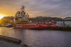 MV Północny dowódca Obrazy Stock