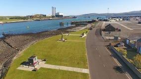 MV Princess Victoria Memorial Larne Harbour Antrim Northern Ireland