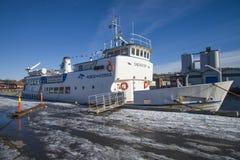 MV sagasund (δεμένος στην αποβάθρα) Στοκ φωτογραφίες με δικαίωμα ελεύθερης χρήσης