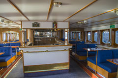Mv sagasund (from the bar) Royalty Free Stock Photography