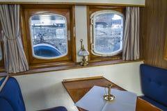Mv sagasund (old fashioned windows) Stock Image