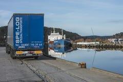 MV Wilson Humber Στοκ φωτογραφία με δικαίωμα ελεύθερης χρήσης