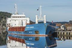 MV Wilson Humber Royalty Free Stock Image