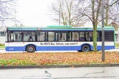 MVV公共汽车 图库摄影