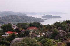 Mwanza和维多利亚湖 库存照片
